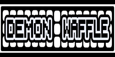 Demon Waffle Logo