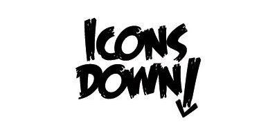 Icons Down Logo