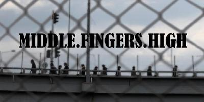 Middle Fingers High Logo