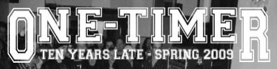 One-Timer Logo