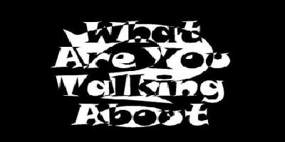 What Are You Talking About? Logo
